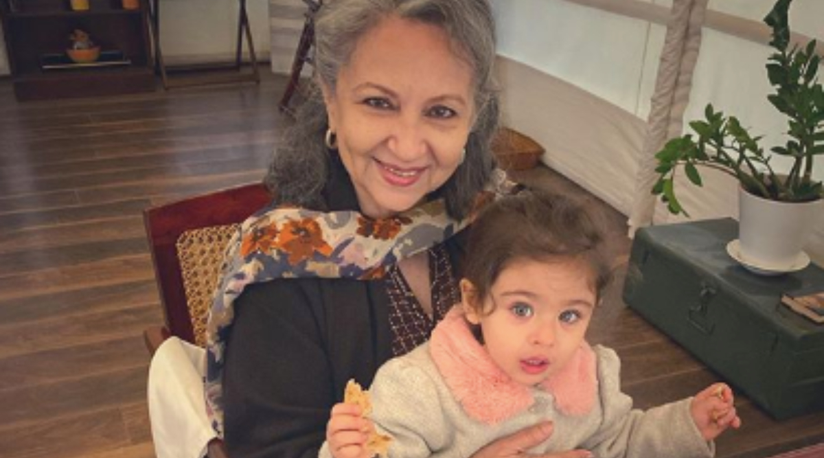 Sharmila Tagore Rings in Her 75th Birthday With Granddaughter Inaaya Naumi Kemmu and Some Delicious Looking Pancakes (See Pic)