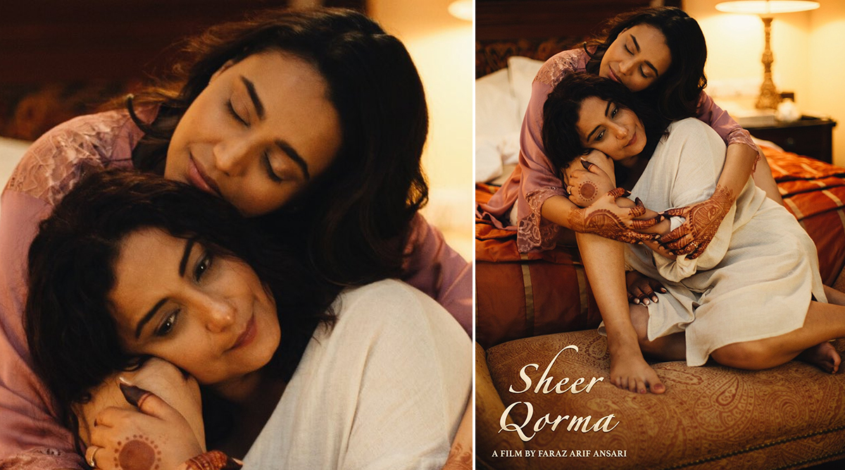 Sheer Qorma: Swara Bhasker and Divya Dutta Seen Sharing a Close Embrace in the New Still From the Film(See Pic)