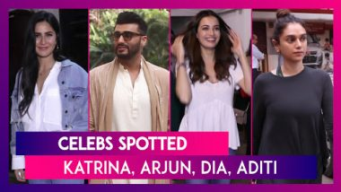 Katrina Kaif, Arjun Kapoor, Dia Mirza, Aditi Rao Hydari & Others Seen In the City | Celebs Spotted