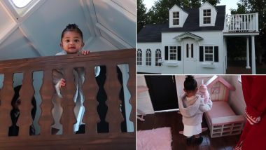 Kylie Jenner's Daughter Stormi Gets a Freakin' Life-Size Doll House As Early Christmas Gift From Grandma Kris (Watch Video)