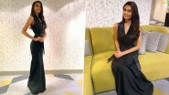 Suman Rao Looks Chic in This Black A-Line Dress for Miss World 2019 Interviews Ahead of the Finale Night (View Pics)