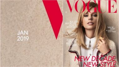 Taylor Swift Graces January 2020 Issue of British Vogue but Cover Date Reads '2019'! Twitterati Has a Field Day Poking Fun at Faux Pas