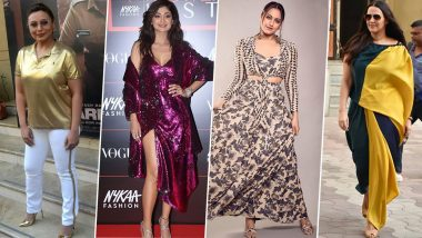 Rani Mukerji, Sonakshi Sinha and Shilpa Shetty Play a Bad Fashion Game this Week (View Pics)