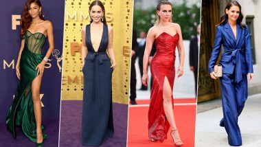 Year Ender 2019: Zendaya, Emilia Clarke, Scarlett Johansson, Katie Holmes Were Hollywood's Best Dressed Ladies and How! (View Pics)