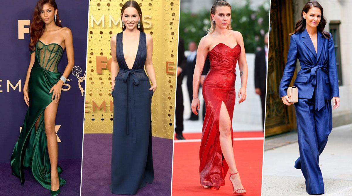 Year Ender 2019: Zendaya, Emilia Clarke, Scarlett Johansson, Katie Holmes Were Hollywood's Best Dressed Ladies and How! (View Pics)