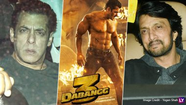 Dabangg 3: Salman Khan, Kichcha Sudeep and Others Attend the Special Screening (View Pics)