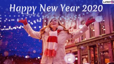 Happy New Year 2020 in Advance Greetings: WhatsApp Stickers, HNY Quotes, Wishes, New Year Images, GIFs, Facebook Messages and SMS Templates to Share Holiday Cheer With Loved Ones
