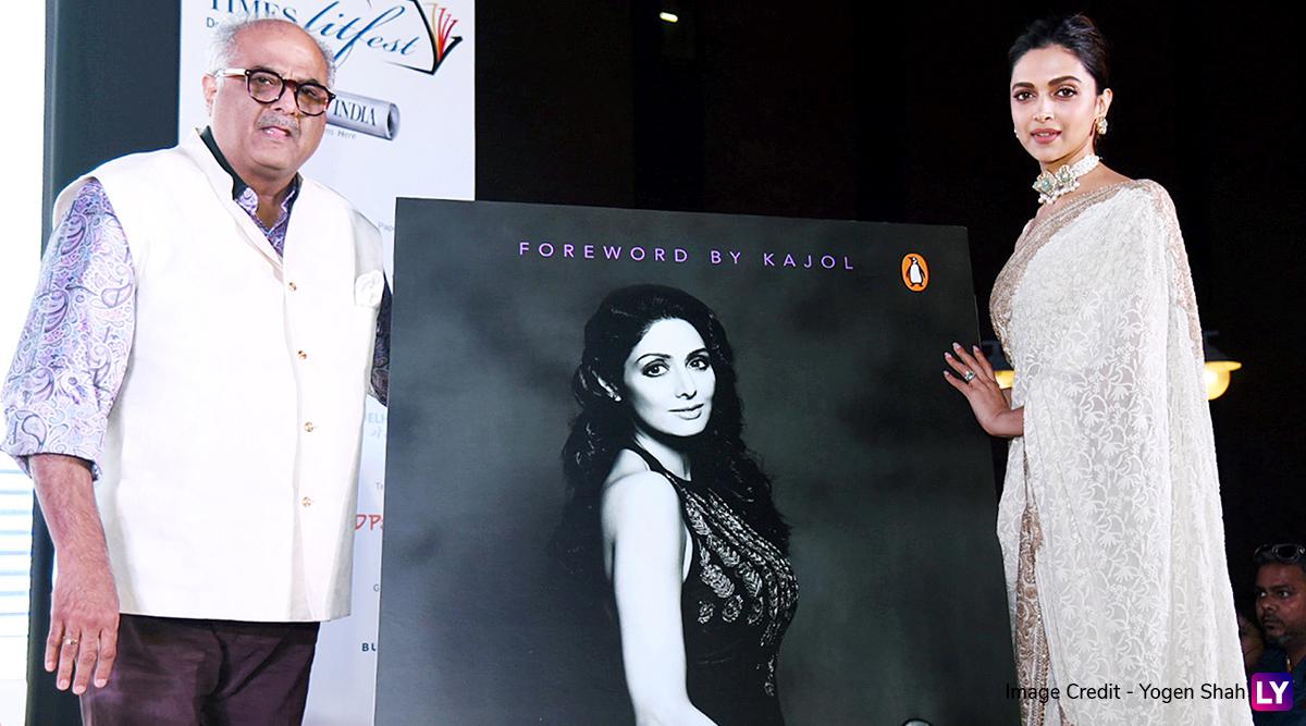Deepika Padukone Launches Book On Sridevi's Life, Boney Kapoor Gets Emotional (See Pics)