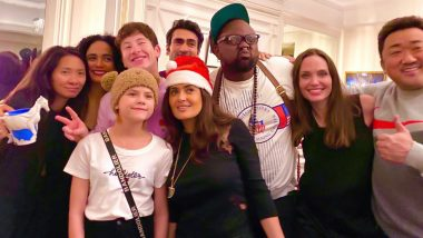 The Eternals: Angelina Jolie, Salma Hayek and Cast Have a Blast at Pre-Christmas Bash! (View Pic)