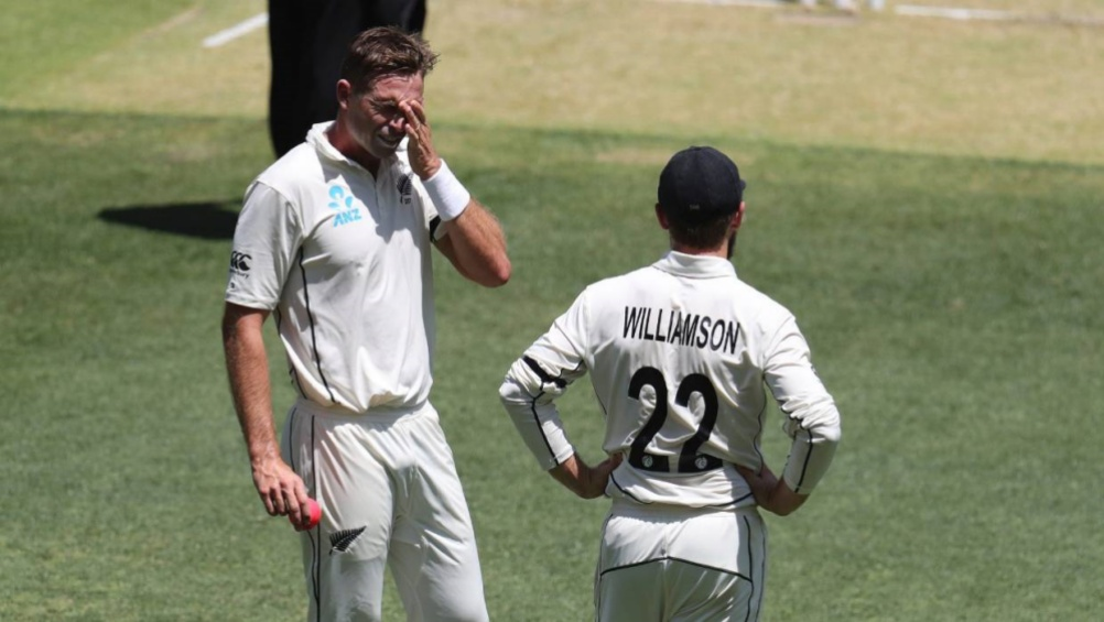 David Warner Gets into a Heated Verbal Exchange With Tim Southee During NZ vs AUS 1st Test 2019 Day 1 (Watch Video)