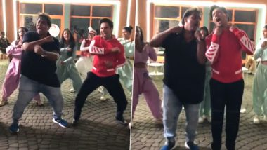 Varun Dhawan Begins The Muqabla Challenge With Ganesh Acharya But It's Open Only To The Fans (Watch Video)