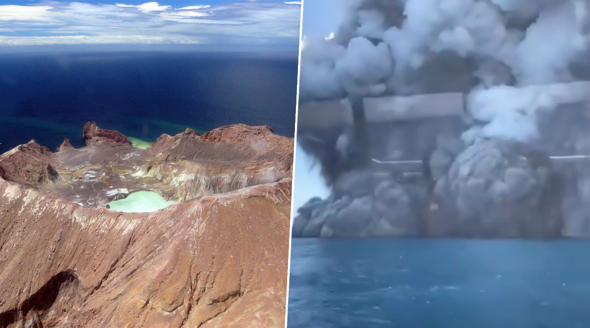 Whakaari White Island Volcano Erupts in New Zealand! Five Die and Many Others Missing, Watch Video of the Eruption