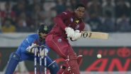 WI 59/0 in 8 Overs (Target 171) | India vs West Indies Live Cricket Score of 2nd T20I 2019 Match: Evin Lewis, Lendl Simmons Put Up Half Century Stand