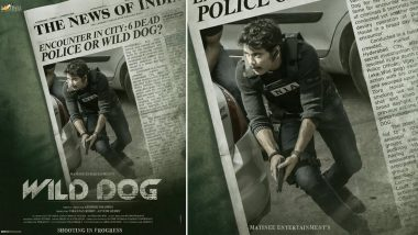 Nagarjuna Announces His Next Project 'Wild Dog' With a Cool Poster, Cop Film Goes on Floors (See Pic)