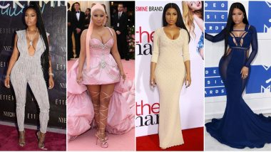 Nicki Minaj Birthday Special: 7 Fashion Outings of the Rapper that are Bold and Gorgeous in their Own Way (View Pics)