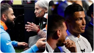 Year Ender 2019: From Virat Kohli & Rohit Sharma Meeting 87-Year-Old Fan to Cristiano Ronaldo Asking Lionel Messi Out for Dinner, 5 Instances When Sportsmen Won Our Hearts This Year (Watch Videos)