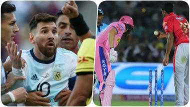 Year Ender 2019: From MS Dhoni's Army Insignia Gloves to Lionel Messi Refusing to Collect Medal After Being Handed a Red Card, 5 Major Controversies Across Sports!