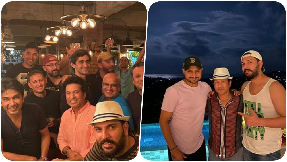 Yuvraj Singh's 38th Birthday Party Pics: Sachin Tendulkar, Ajit Agarkar Ashish Nehra and Others Party All Night to Celebrate Yuvi's Birthday