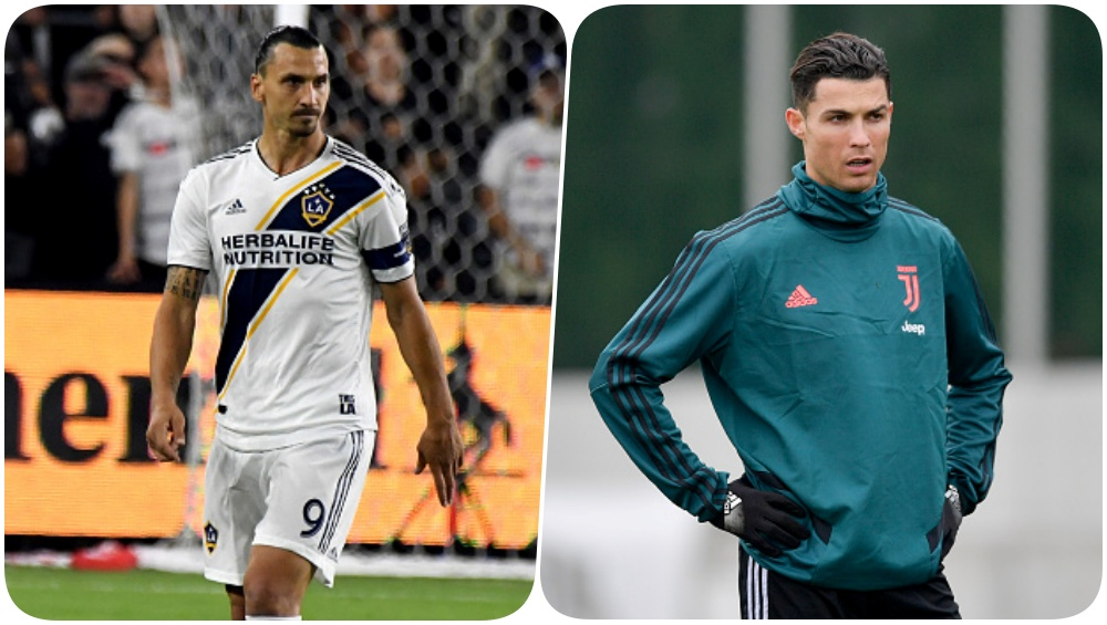 Zlatan Ibrahimovic Launches a Fresh Attack on Cristiano Ronaldo Ahead of Serie A Return, Says, 'There Is Only One Ronaldo, the Brazilian'