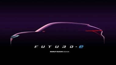 Maruti Suzuki Futuro-e Concept To Be Showcased at 2020 Auto Expo; Teased Ahead of Official India Debut