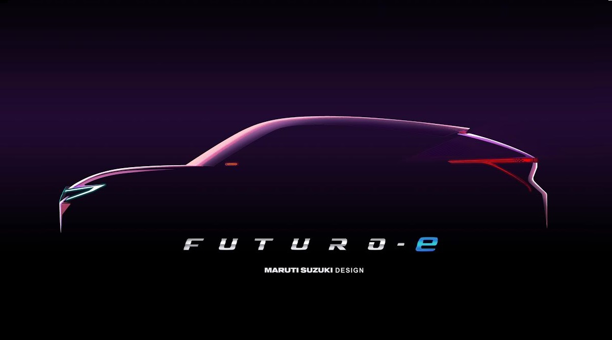 0 - Maruti Suzuki Futuro-e Concept To Be Showcased at 2020 Auto Expo; Teased Ahead of Official India Debut