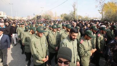 US Strikes on Iran: Tens of Thousands Rally in Tehran Against American 'Crimes', Chant 'Death to America' Holding Posters of Slain Commander Qasem Soleimani