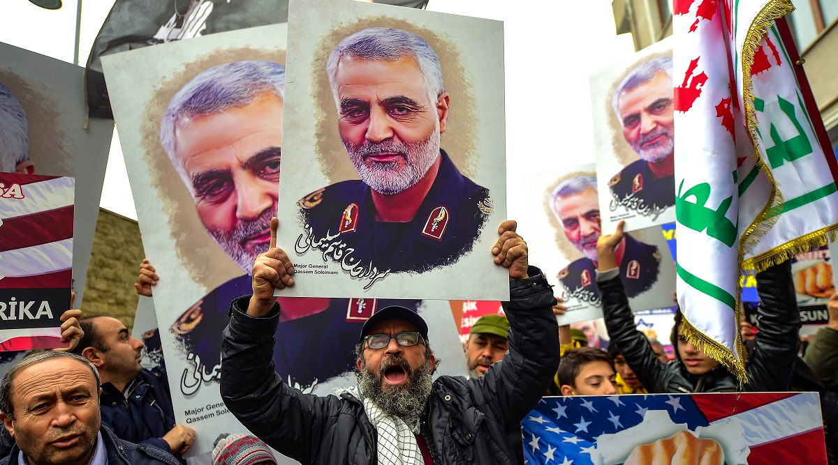 Iran: Mourners Pack Tehran to Grieve Killing of Iranian Military Commander Qasem Soleimani