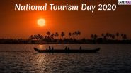 National Tourism Day 2020 Images and Postcards: WhatsApp Stickers, Travel Quotes, Tourism Day Messages and Greetings to Send on January 25