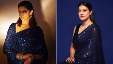 Fashion Face-Off: Deepika Padukone for Chhapaak or Kajol Devgan for Tanhaji Promotions? Who Pulled the Sequined Saree Better?