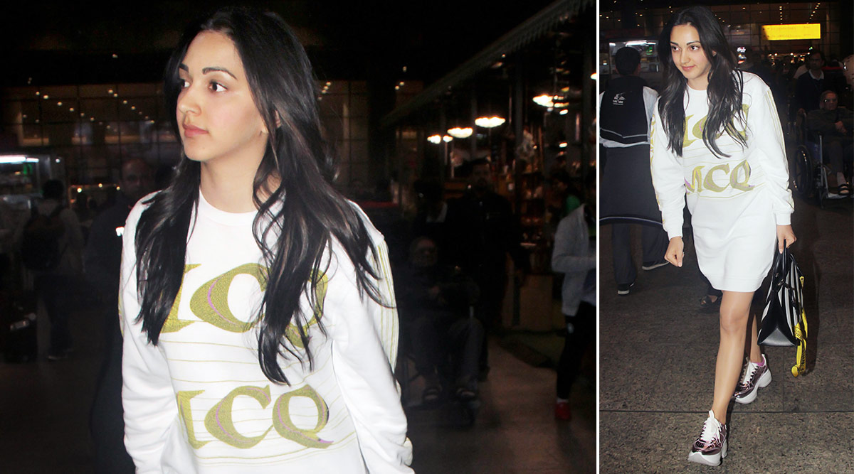 Cold Weather and Hot Fashion Ahead, Courtesy Kiara Advani and Her Chic Airport Style!