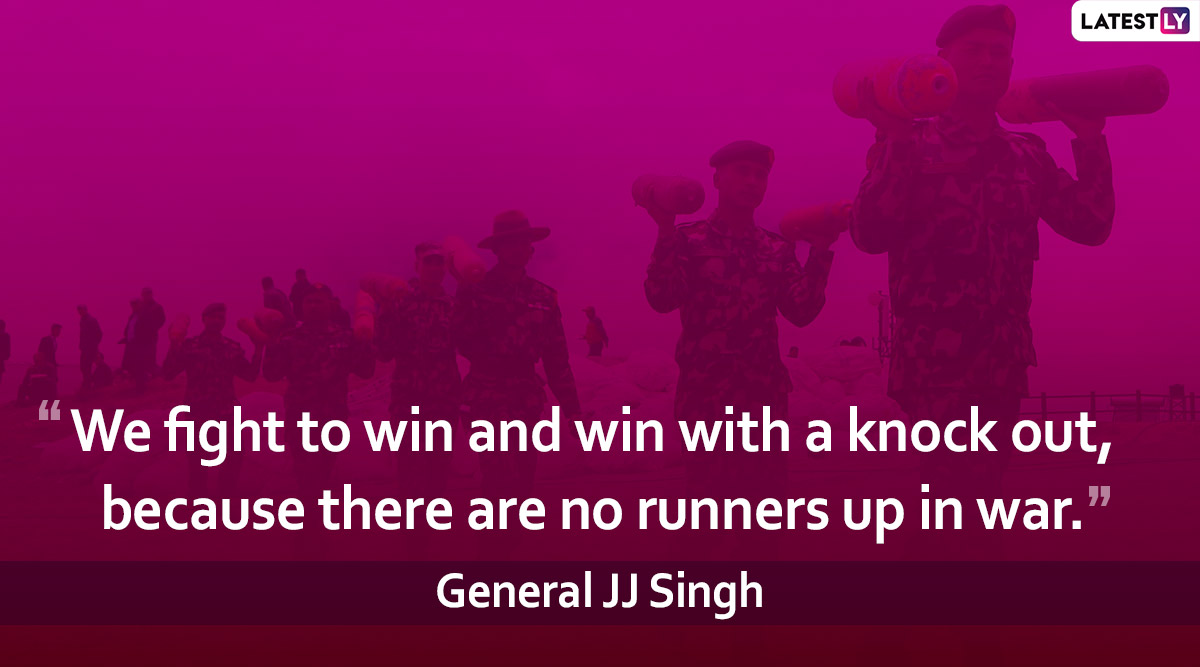 Army Day in India 2020: Best Quotes That Reflect The Valour and Values of Our Brave Army