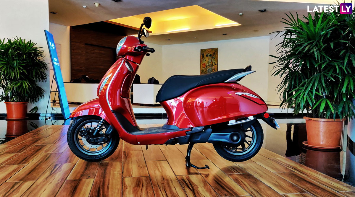 Bajaj Chetak Electric Scooter Launching Today in India; Expected Price, Features & Specifications