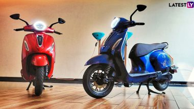 Bajaj Chetak Electric Scooter To Be Launched in India on January 14; Expected Price, Bookings, Features & Specifications