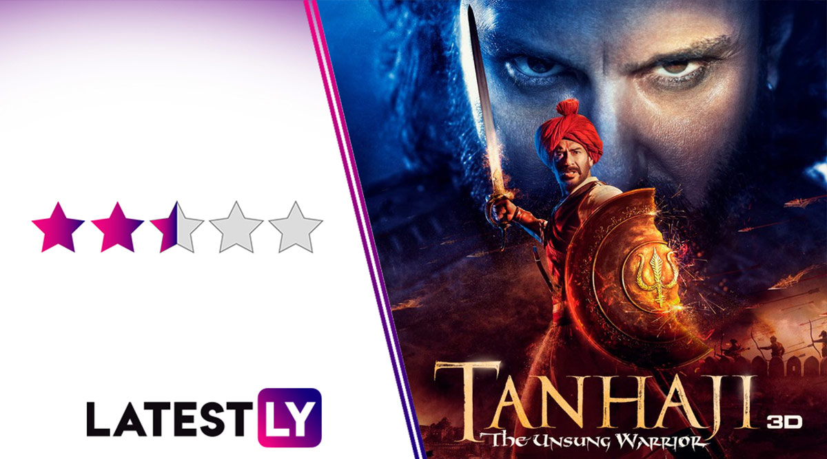 Tanhaji Movie Review: Ajay Devgn, Saif Ali Khan Own a Few Mass Moments in This Saffronised Masala Entertainer Packaged as a History Lesson