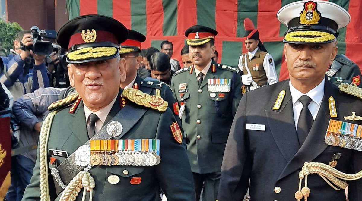 Air Defence Command's Proposal to Prepared by June 30, Says CDS General Bipin Rawat After Meeting Chiefs of Three Service Wings