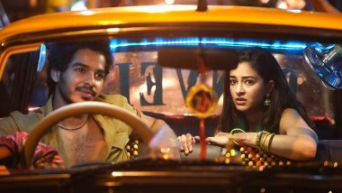 Khaali Peeli First Look Out!: Ishaan Khatter As Taxi Driver and Ananya Panday as Fellow Passenger Gets All Our Attention (View Pic)