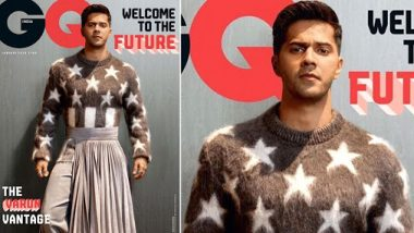 Varun Dhawan Welcomes The Future With Captain America Vibes On GQ India's January 2020 Cover