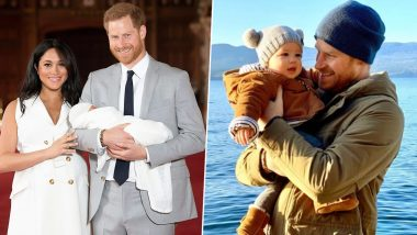 Prince Harry, Meghan Markle Shares Baby Archie's Unseen Pics in 2019 Montage With Coldplay's Refreshing Song Clocks (Watch Video)
