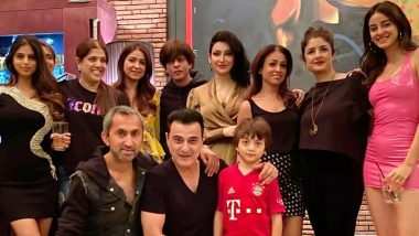 Photos: Shah Rukh Khan and Gauri Khan Party With Kids AbRam, Aryan, Suhana and Other Celebrities Including Ananya Panday, Sanjay Kapoor on New Year's Eve