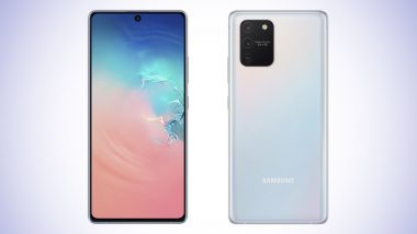 Samsung Galaxy S10 Lite India Price To Start From Rs 39,990; Pre-orders To Begin on January 23 Via Flipkart