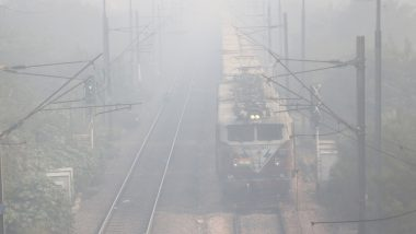 Dense Fog Engulfs North India, 15 Trains in Northern Region Running Late Due to Low Visibility