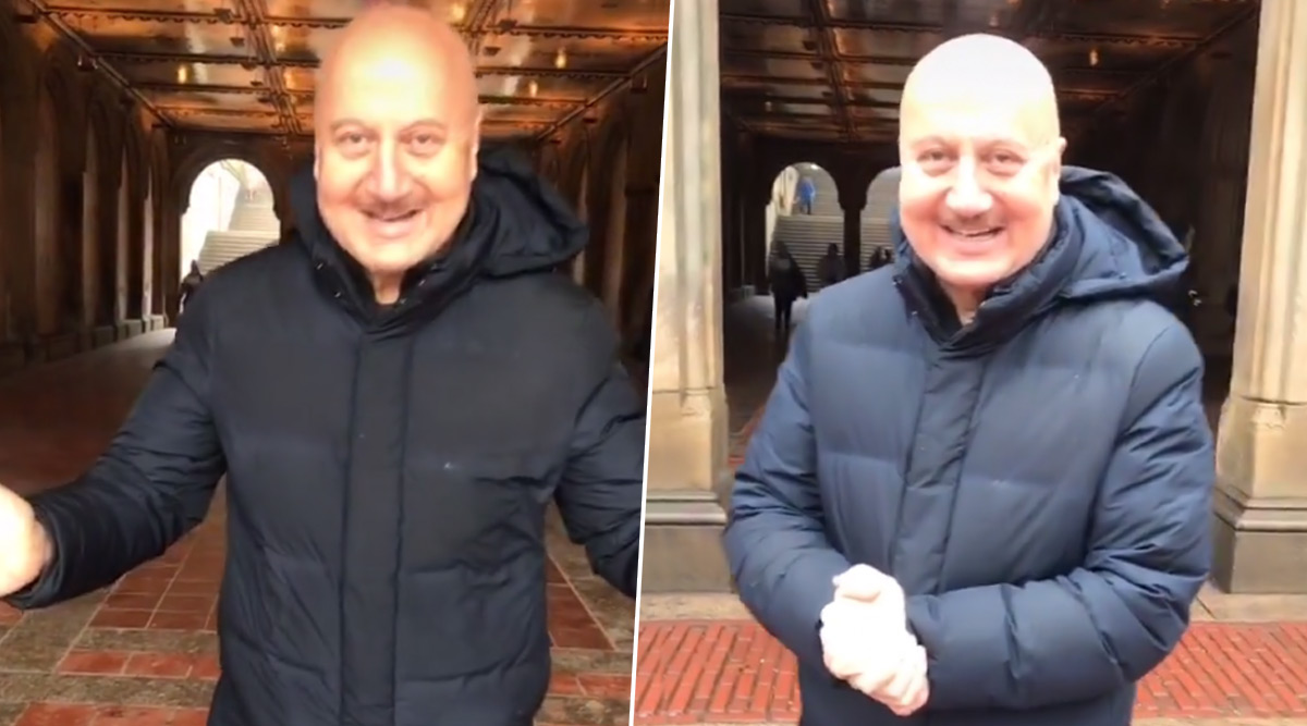 Anupam Kher TikTok Debut: Hotel Mumbai Star Creates His Own Version of 'Tune Mari Entriyaan' to Invite Followers (Watch Video)