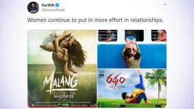 Funny 'Malang Kiss' Memes and Jokes: Disha Patani & Aditya Roy Kapur's Hot Liplock Makes Netizens LOL and Demand 'TikTok Kiss Challenge'