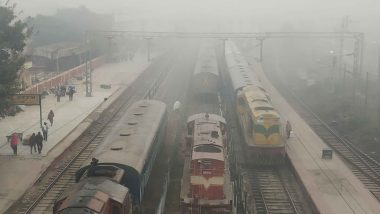 Dense Fog Hits Train Services in Northern Railway Region, 26 Delhi-Bound Trains Delayed Due to Low Visibility