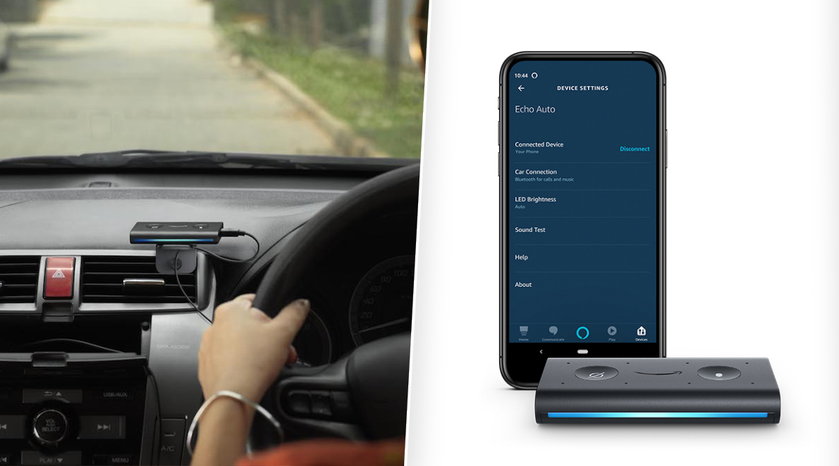 Amazon Echo Auto Device For Cars Launched in India at Rs 4,999; To Go on Sale From January 15