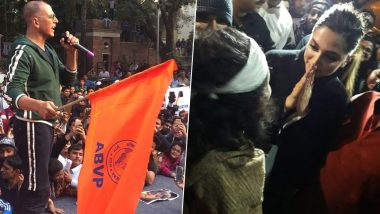 Neither Deepika Padukone Owes An Explanation For Visiting JNU nor Akshay Kumar for Raising ABVP Flag, It is Better Than Being a Fence Sitter, Says Milind Deora