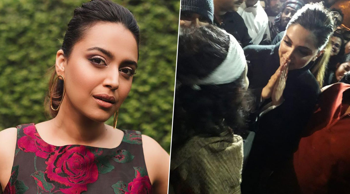 Deepika Padukone's JNU Visit: Netizens Laud the Chhapaak Actress for Supporting the Students and Calls Her An Actress With a Spine (Read Tweets)