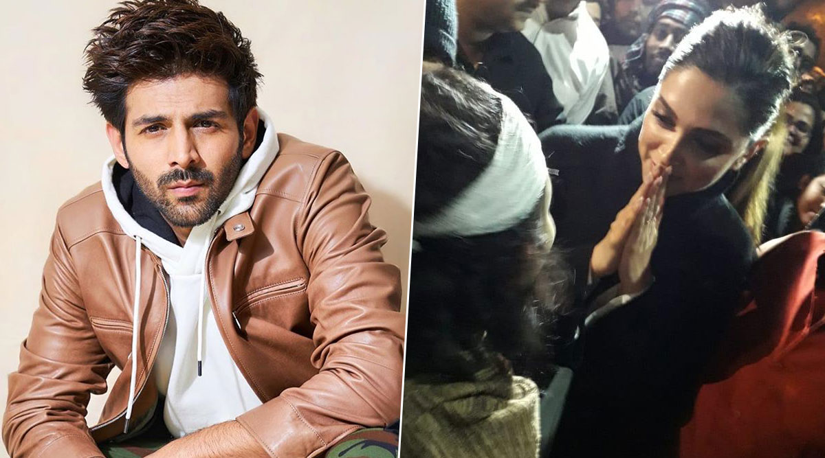 Kartik Aaryan Lauds Deepika Padukone's JNU Visit Says, 'I Respect What Deepika Did Yesterday and I Hope a Lot of People Would Stand Up' (Watch Video)