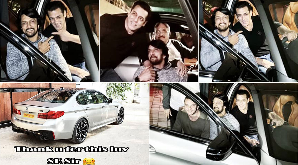 Salman Khan Gifts Dabangg 3 Co-Star Kichcha Sudeep Rs 1.5 Crore BMW Car (See Pic)