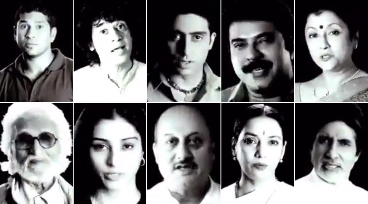 Amitabh Bachchan, Sachin Tendulkar's Old 'I Am Indian' Video Goes Viral, Twitterati Say We Need a Newer Version Post Their Silence on JNU Attack